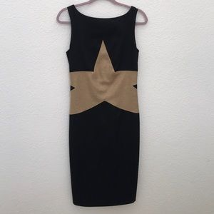 DIANE von FURSTENBERG Black Midi Dress